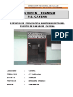 SUSTENTO TECNICO _ TDR_CAYENA
