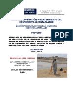 Manual Op y Mant Alcantarillado, CBD y PTAR
