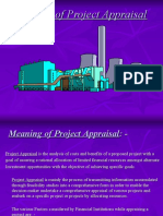 Methods of Project Appraisal PPT