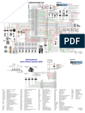 2013 Maxxforce DT, 9, 10 Wiring Diagrams | Electronics | EnginesScribd