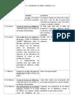 BIBLIOTECA CALENDARIO DE ENERO