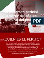 EL DICTAMEN PERICIAL A PARTIR DEL CODIGO GENERAL DEL PROCESO.