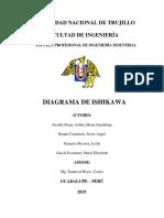 DIAGRAMA ISHIKAWA INFORME FINAL