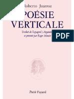 Poesie-verticale-Juarroz-Roberto