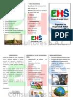 EHSCSAC - Tríptico