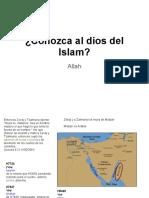 Conozca al dios del Islam