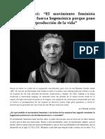 Entrevista Silvia Frederici