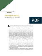 Identidad nacional. Lo sagrado y lo profano - Monsivais.pdf
