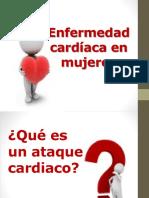 ataque cardíaco mujeres