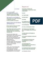 Protocols for reversing cancer