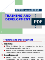 Chapter 9 - Training & Development