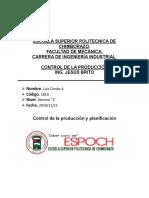 CONSULTA CONTROL DE LA PRODUCCION LUIIS CONDO