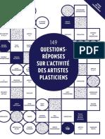 Questions reponses artistes plasticiens