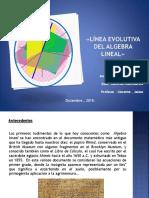 LÍNEA EVOLUTIVA DEL ALGEBRA LINEAL».pptx