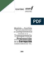 Modelo de Gestión (GC-TCS)