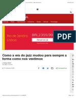 Como a era do jazz mudou para sempre a forma como nos vestimos - BBC News Brasil