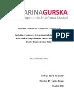 Inclusión de elementos de la música tradicional argentina en las bandas sonoras de Gustavo Santaolalla - Diarios de motocicleta y Babel-