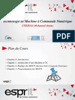 CNC2016 Chapitre 2 Reglages des MOCN