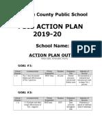 pbis action plan 2019-20