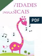 Atividades Musicais - capas