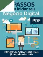 7 Passos Para Iniciar Seu Negócio Digital