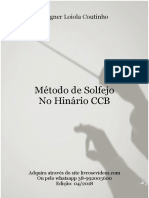 MÉTIDO DE SOLFEJO NO HINÁRIO CCB