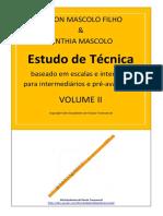 Flauta - Estudo de Técnica Volume 2 -  Nilson Mascolo & Cinthia Mascolo.pdf