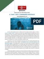 CVPI, 2019, Abril - Mayo. El DUEC, reto y compromiso apostólico