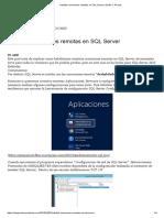 Habilitar Conexiones Remotas en SQL Server _ Emilio J. Pericet