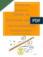 Flauta - Vol 2 - Estudo de Sonoridade. Nilson Mascolo _ Cinthia Mascolo  15Março19