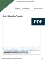 Região Hidrográfica Amazônica — Agência Nacional de Águas