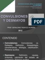 CONVULSIONES Y DESMAYOS