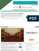 funcion social del pastor