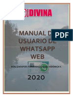 Whatsapp Web Verito