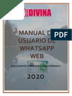 Whatsapp Web Verito