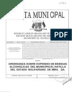 ORDENANZA SOBRE EXPENDIO DE BEBIDAS ALCOHOLICAS DEL MUNICIPIO E (1)