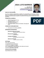 currículum - Natalia
