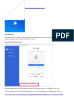 Google Backup & Sync - Manual