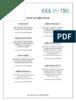 Carta Coffee Break 2019
