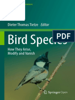 studying birds in time and space