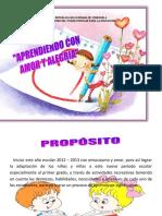 PLANES INTEGRALES 2012-2013