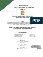 Tesis Dificultad que posee el personal aeroportuario para comunicarse en el idioma ingles 31-5-2012.docx1