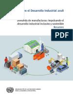 Informe sobre el Desarrollo Industrial 2018 - ONUDI