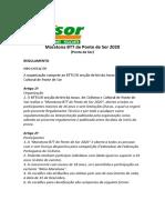 regulamento maratona bttsor 2020