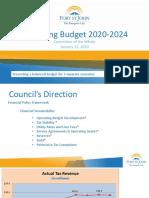 Fort St. John 2020 Draft Operating Budget Presentation