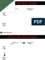 Johari Window Model_ppt