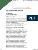 Faye investiga conduta ambígua do pensador 26-05-1996 [sobre Heidegger]