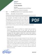 INFORME TÉCNICO - CP SANTA CRUZ, CENTRO AMERICA Y SAN JUAN