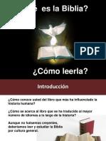 Que Es La Biblia y Como Leerla (Modificado) 2