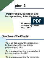 Chapter 3 Partnership Liquidation and Incorporation